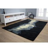 Kalora Manika Blue/Cream Dark Smoke Rug 8ft x 10ft