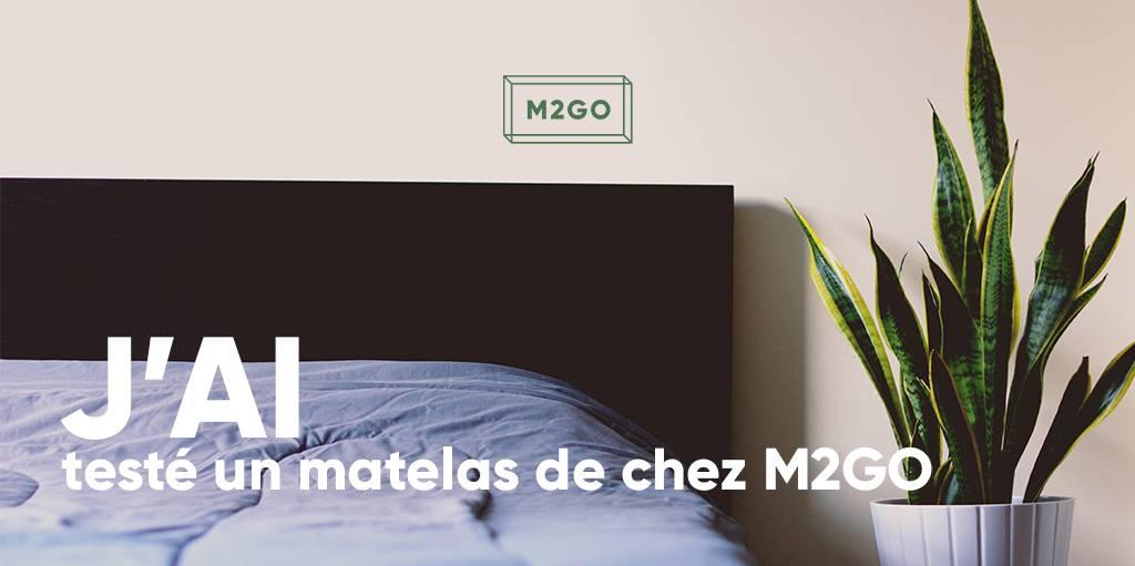J'ai testé un matelas de chez M2GO