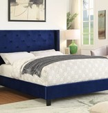 "!nspire Lino 60"" Bed in Blue"
