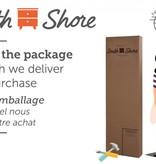 South Shore Bureau double 6 tiroirs Primo, Chêne rustique