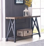 !nspire Langport Console Table in Rustic Oak