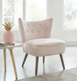 !nspire Elle Accent Chair in Blush