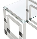 !nspire Table à café, Argent, collection Eros