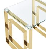 !nspire Table à café, Or, collection Eros