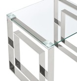 !nspire Eros Console Table in Chrome