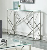 !nspire Juniper Console Table in Chrome