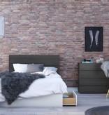 """Nexera 3-Drawer Full (54"""") Size Bed, White, Blvd"""