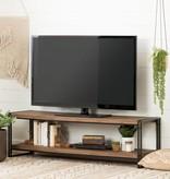 South Shore Gimetri Tv Stand-Rustic Bamboo