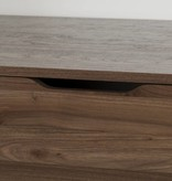 South Shore Holland 5-Drawer Chest-Natural Walnut