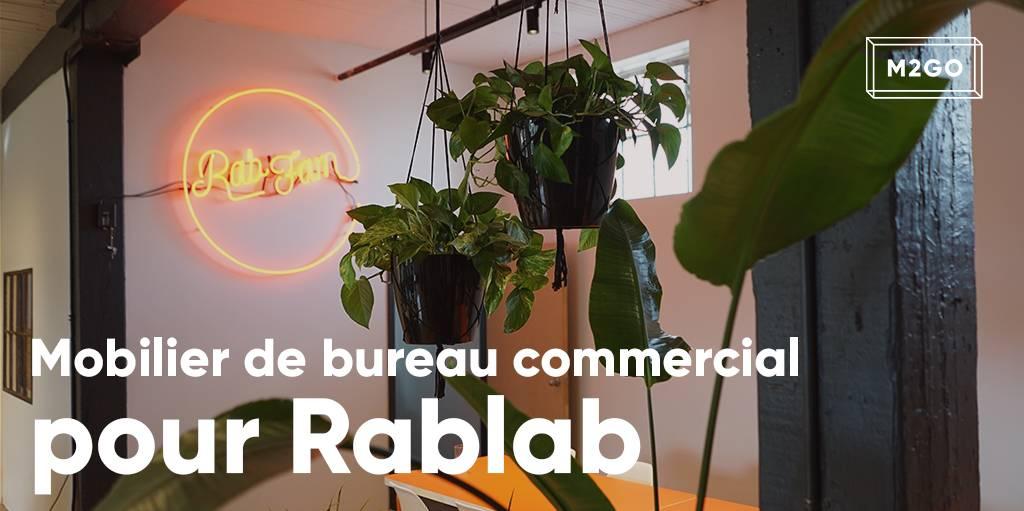Mobilier de bureau commercial pour Rablab