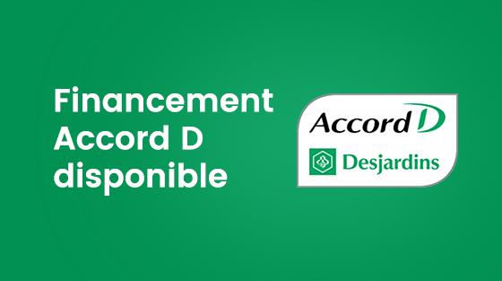 Financement Accord D disponible