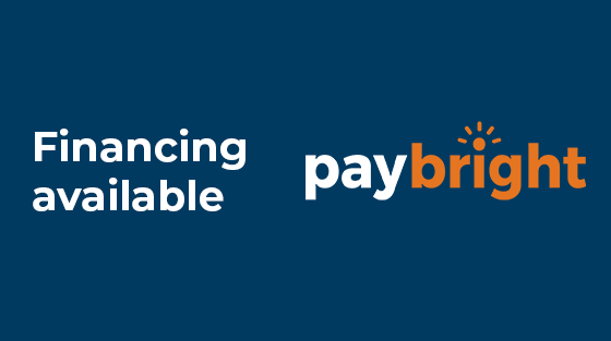PayBright financing available