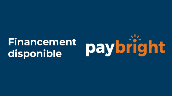 Financement PayBright disponible