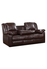 Red Barrel Studio® Arely Faux Leather Reclining Sofa
