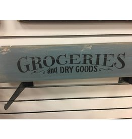 Groceries Arrow Sign