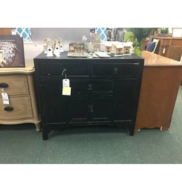 Black Antique Asian Cabinet