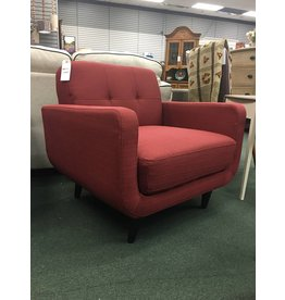 Red Modibella Contemporary Armchair