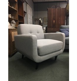 Gray Modibella Contemporary Armchair