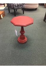 Small Red Octagon Table