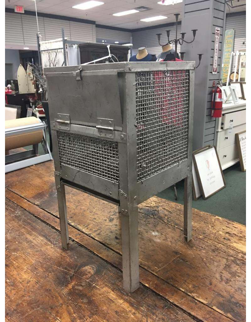 Vintage Metal Animal Cage