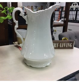 White Sterling Porcelain Pitcher