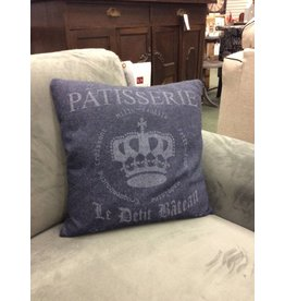 Decorative Felt Throw Pillow - B