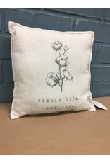 Simple Life, Good Life Pillow