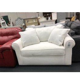 Overnight Sofa White Sleeper Loveseat
