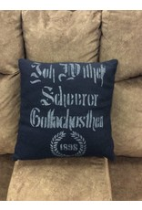 Decorative Felt Throw Pillow - N