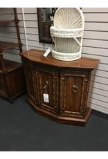 Vintage Small Wood Credenza