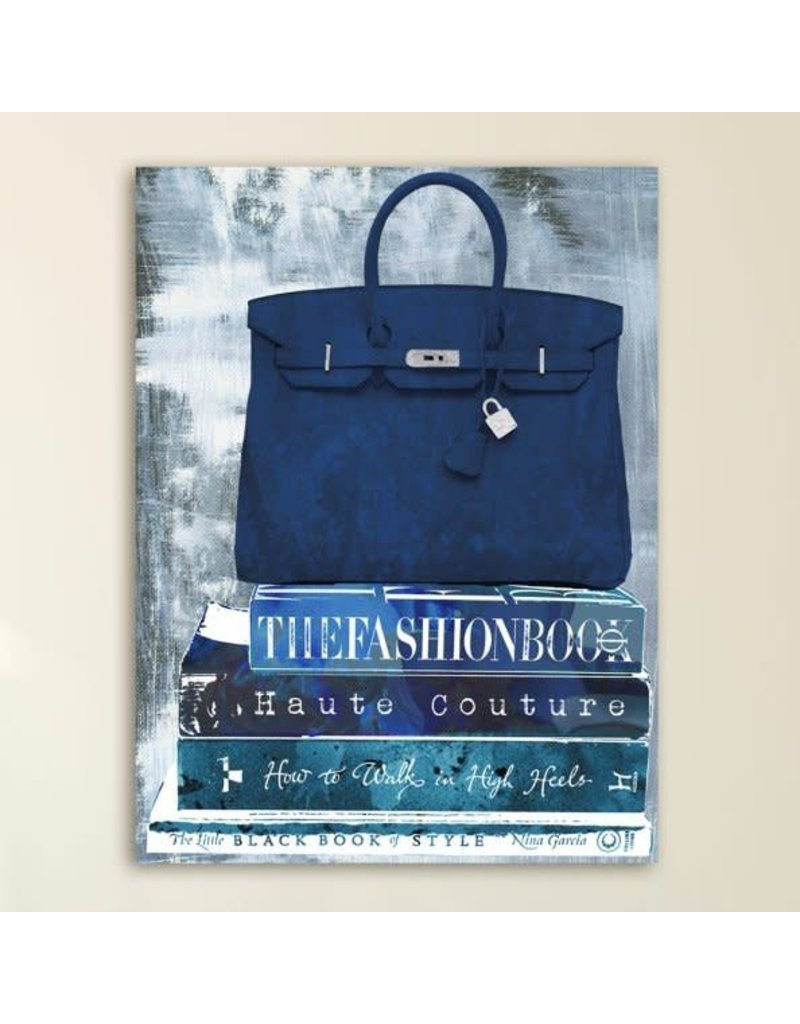 Oliver Gal 'Fashion A to Z' Graphic Art Print on Wrapped Canvas