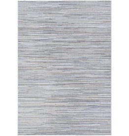"Langley Street Lorenzo Taupe/Champagne/Blue Indoor/Outdoor Area Rug 8'6""x13'"