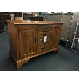 Ethan Allen Small Solid Maple Ethan Allen Colonial Buffet