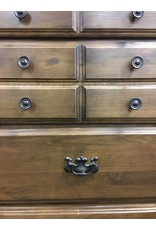 Colonial Style 10 Drawer Double Dresser