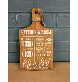 Kitchen Wisdom Hanging Cheese Board