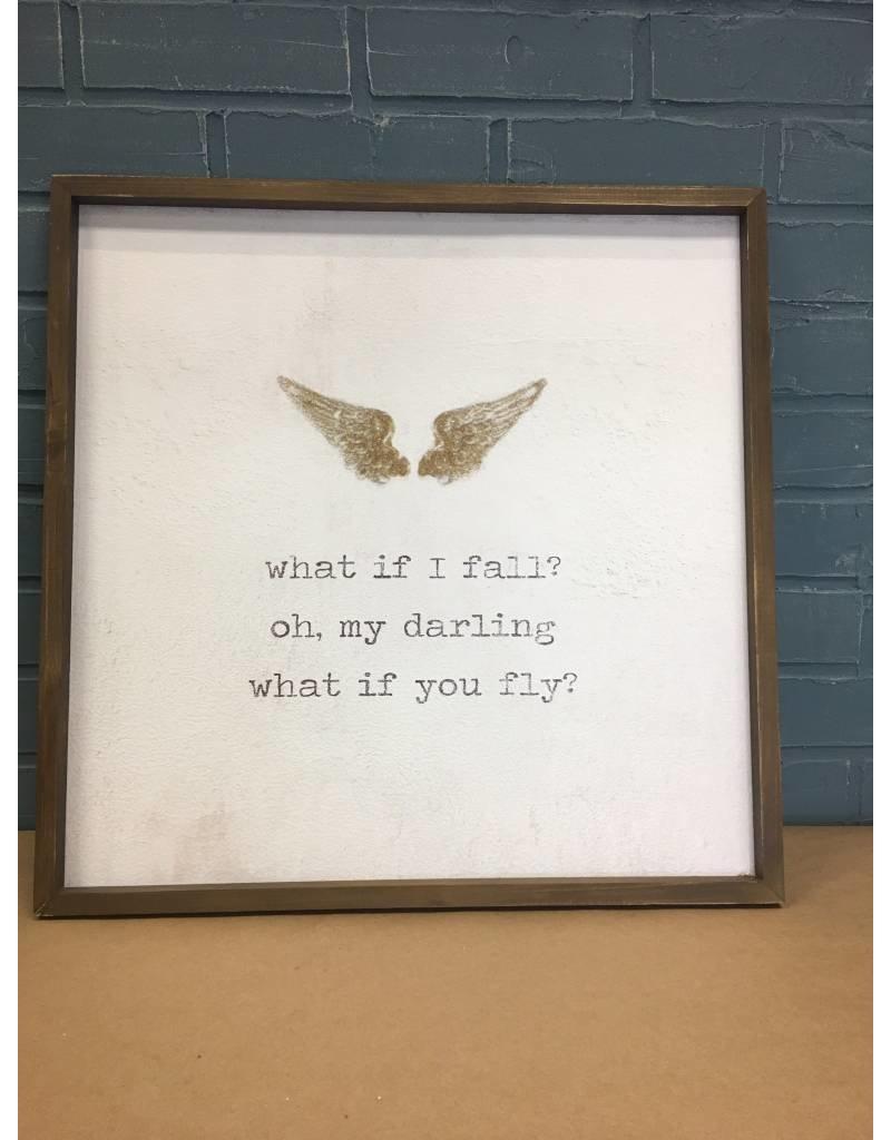 Framed Watercolor Art - Fly
