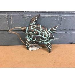 Sea Creature Tin Ornament