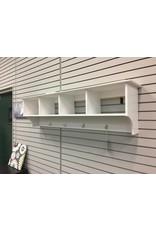 """Andover Mills Ella 60"""" Hanging Entryway Storage Shelf"""