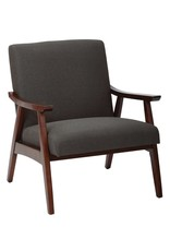 Langley Street Coral Springs Lounge Chair - Charcoal