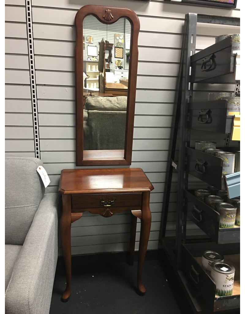 Small Hallway Table w Matching Mirror