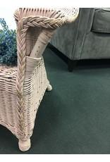 Pink Wicker Child Size Chair