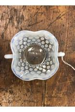 Opalescent Hobnail Trinket Dish