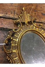Small Gold Framed Mirror