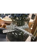 "Willow Glass Bottle 8"""