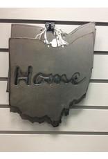 """Metal Ohio w/Home Cutout, 9"""""""