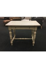Small Ivory Painted European Kitchen Table