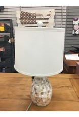 """Beachcrest Home Eskridge Mother of Pearl Inlay 20.5"""" Table Lamp"""