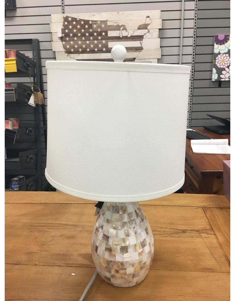 "Beachcrest Home Eskridge Mother of Pearl Inlay 20.5"" Table Lamp"