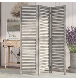 Laurel Foundry Modern Farmhouse Bowersville 3 Panel Room Divider