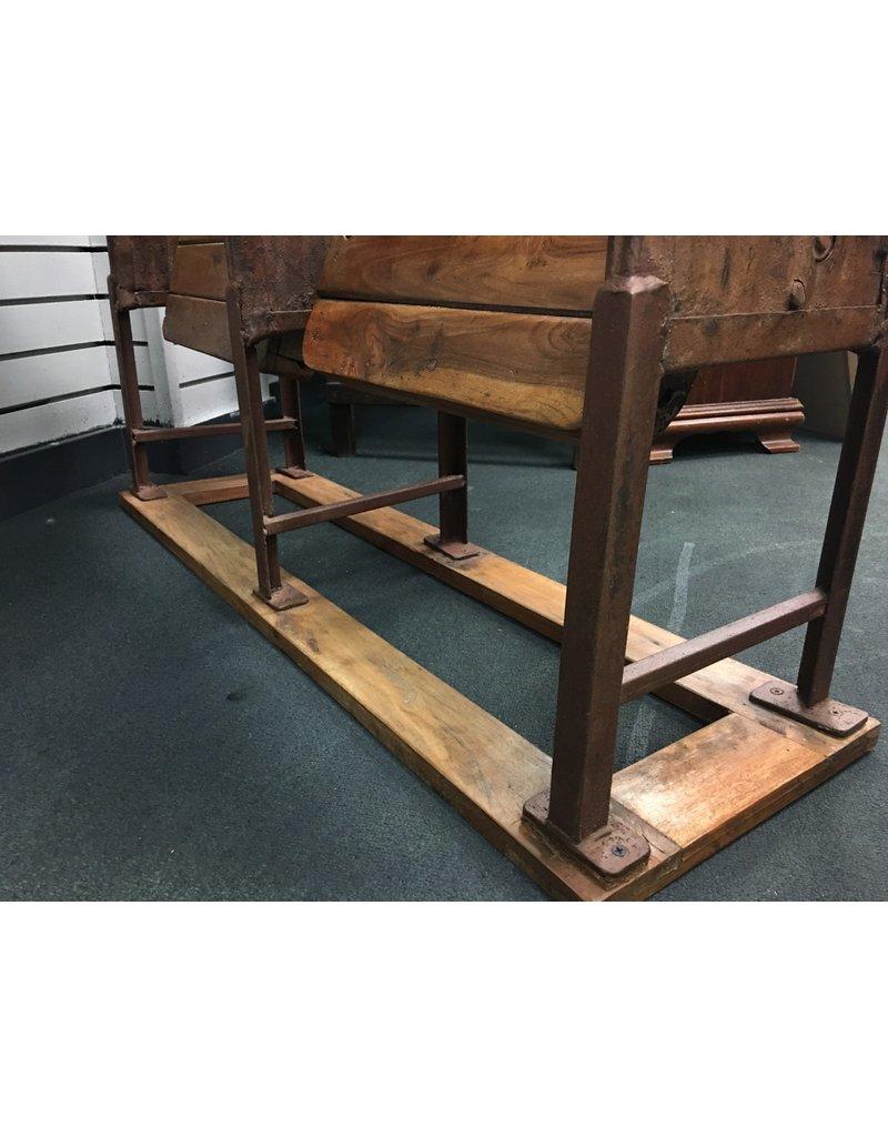 Tandem Wooden Bleacher Seats